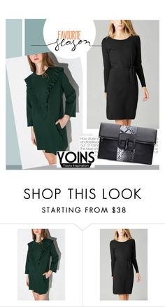 """Yoins"" by mirelagrapkic ❤ liked on Polyvore featuring women's clothing, women, female, woman, misses, juniors and yoins"