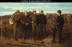 Prisoners from the Front - Winslow Homer - www.winslow-homer.com