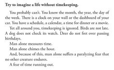 Mitch Albom Quote from The Time Keeper
