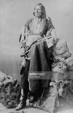 White Eagle, chief of the Native American Ponca tribe. Get premium, high resolution news photos at Getty Images
