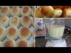 Learn How To Make Bread In A Blender ! A Delicious Recipe That Everyone Likes ! Great And Easy Bread Recipe ! Easy Bread Recipes, Cooking Recipes, Grandma's Recipes, How To Make Bread, Food To Make, Pan Dulce, Pan Bread, Latin Food, Sin Gluten