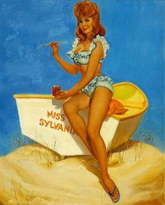 Pin Up Girls 50s 60s   American girls   Pin-Up girl   #Vintage ...   Pin-ups girls ...