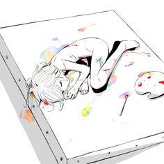– Zeichnungen – - New Sites Art Anime, Anime Kunst, Dark Art Illustrations, Illustration Art, Art Triste, Sun Projects, Arte Obscura, Vent Art, Sad Art