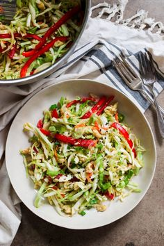 Paleo Asian Coleslaw