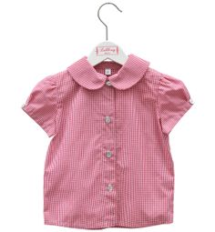 Baby-Bluse HANNI - Vichy1 von Liebling Berlin auf DaWanda.com
