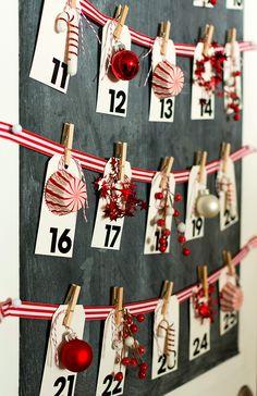 Christmas Craft Ideas: Advent Calendar How To Make Your Own
