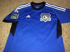 4ac34de55 Sale Adidas San Jose EARTHQUAKES Soccer Jersey MLS by casualisme