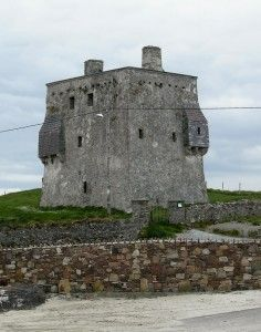 Claire Island Castle, County Mayo, Ireland