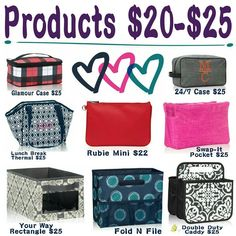 Thirty One Gifts $20-$25 Personalize Monogram Kirsten Fouquet Consultant