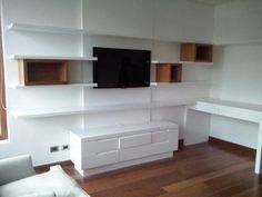 Wall unit + desk