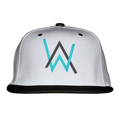 Alan Walker Embroidered Snapback Hat                                                                                                                                                                                 Más