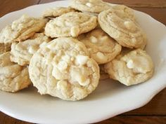 The Twice Remembered Cottage: Perfect White Chocolate Chip Cookie Recipe