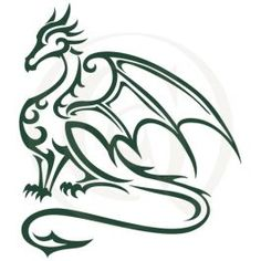 A fierce tribal dragon stares off into the distance. This single-color cutting file is perfect for car decals, mugs, T-shirts, and more.Download available in both SVG and DXF file formats. Cricut Creations, Car Decals, Tribal Tattoos, Cutting Files, Dragon, Distance, Mugs, Google Search, Color