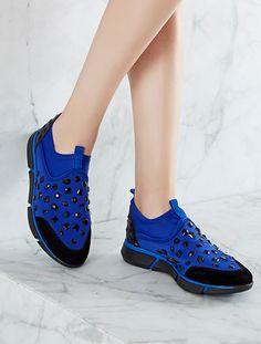 SPOR AYAKKABI Davis Mavi Taşlı Spor Ayakkabı. kim · Shoes · New  Dior fusion  ... bf105b1532b