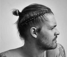 White Guy Braided Hairstyles In 2020 50 Cool Man Braid Hairstyles for Men In 2020 the Trend Spotter New Braided Hairstyles, Mens Braids Hairstyles, Top Knot, Cornrows, Braid Styles For Men, Braided Dreadlocks, Braids For Boys, Different Braids, Dreadlock Styles