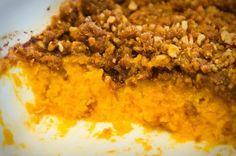 Sweet Potato Pecan Crisp Recipe on Yummly. Sweet Potato Crisps, Sweet Potato Dishes, Sweet Potato Pecan, Sweet Potato Casserole, Potato Pie, Potato Recipes, Thanksgiving Recipes, Fall Recipes, Holiday Recipes