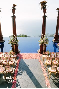 Villa Caletas/Zephyr Palace, Costa Rica wedding.  Our Muse - Green and Pink Wedding - Be inspired by Morgan and Will's green-and-pink wedding in Costa Rica's Central Pacific - ceci new york,...