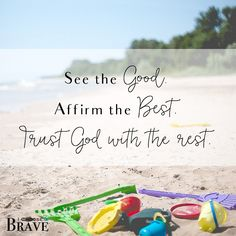 Your kids are not a project to be fixed. Love them well. See the Good. And trust God with the rest. Parenting Brave.
