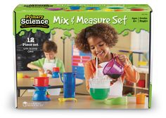 Mix & Measure Set - For my little guy. (purchased 08/2013, Rainbow)
