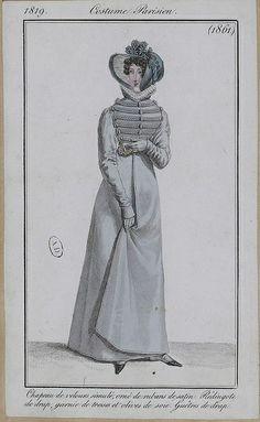 journal des dames et des modes, 1819