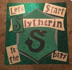 Shot book idea. #harrypotter #slytherin #shotbook #21 Friend Birthday, 21st Birthday, 21st Shot Book, Shot Book Pages, Shots Shots Shots, 21st Bday Ideas, Birthday Shots, Night Book, Slytherin