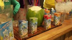 Vita Coco - In my opinion the best tasting coconut water.