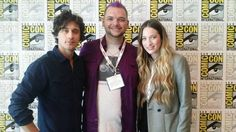 Twitter / OUAFWonderland: OUAF's @Zach Evers Van Norman with  @sophielowelowe (Alice) and Peter Gadiot (Cyrus)