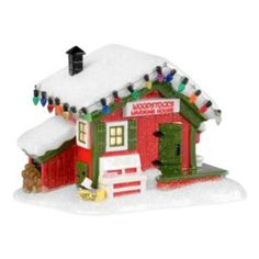 Department 56 Peanuts Woodstock's Warming House Christmas Decor