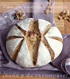 ¡Sano y de rechupete!: Pan de nueces y cerveza