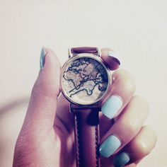 My good buddy bought me this map watch from urban outfitters for my birthday. Too perfect. Thank you sir!
