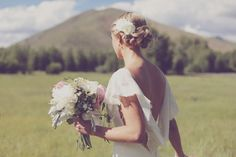 Spring wedding, Sun Valley Idaho.  Planning and design by Taylor'd Events