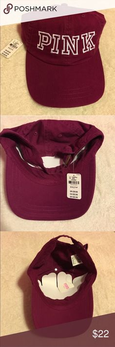 PINK Victoria Secret dad hat PINK Victoria Secret Dad Hat. Brand new with  tags PINK 805bc36b1947
