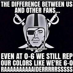So true. #Raiders That's right tho!!!!! RN4L