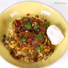 Daphne Oz's Chicken and Pomegranate Stew! #TheChew