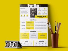 I will Design For You a killer infographic resume #CV with Professional and #Creatively #design under 24h. developers and photographers. This creative resume ideal for the job seeker who wants to give a best impression. Place your order Now WITH CONFIDENCE. Simple Resume Template, Modern Resume Template, Creative Resume Templates, Graphic Design Cv, Infographic Resume, Creative Cv, Free Resume, Resume Cv, Professional Cv