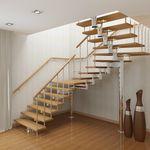 Лестницы для маленьких проемов – экономия внутреннего пространства дома
