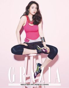 Hwa Young - Grazia Magazine May Issue '14