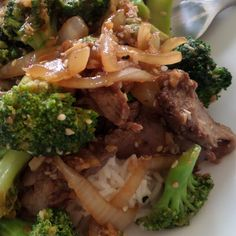 Joybee, Whats for Dinner? : Beef and Broccoli Stir Fry