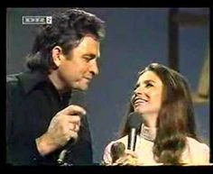 Johnny Cash & June Carter- Help Me Make It Through The Night