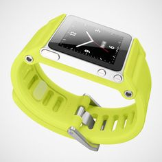 Turn your iPod Nano into a watch with this watchstrap/conversion kit! So cool! via Fab.com