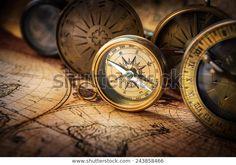 Starý kompas na vintage mapě. Retro: stock fotografie (k okamžité úpravě) 243858466 Ecommerce Store, History Images, Ancient History, Pocket Watch, Royalty Free Stock Photos, Retro, Antiques, Pictures, Photos
