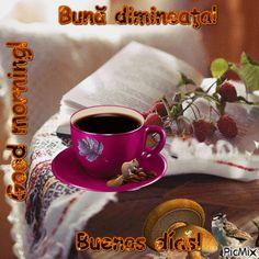 Bună dimineaţa!me4 Anul Nou, Glitter Images, Good Morning, Glitter Tattoos, Tableware, Babe, Coffee, Night, Photos