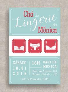 Convite Digital Chá de Lingerie 08