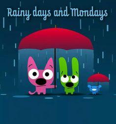 Hoops & YoYo -- Rainy Day Monday