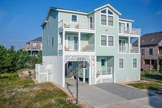 Sea Biscuit: 4 Bedroom, 4 1/2 Bath - Private Heated Pool - Oceanside- Avon NC