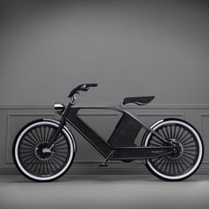 The BLACK SWAN! / http://www.yatzer.com/The-Eclectic-Electric-Cykno-bicycle