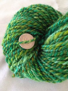 Minstrel Boy mohair and cheviot wool two ply by girlwithasword, $54.00