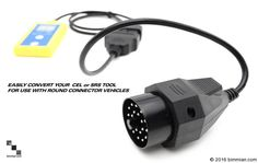 Reader Tool And Round Plug Can Be Purchased Together Or Separately. - - Engine Code Reader and Reset Tools - Photo Obd Tools, Bmw Series, Bmw Cars, Plugs, Engineering, Coding, Vehicles, Electronics, Corks