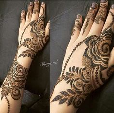 full back of hands mehndi idea Palm Henna Designs, Arabic Henna Designs, Stylish Mehndi Designs, Beautiful Mehndi Design, Best Mehndi Designs, Mehndi Designs For Hands, Bridal Mehndi Designs, Mehndi Design Pictures, Mehndi Images