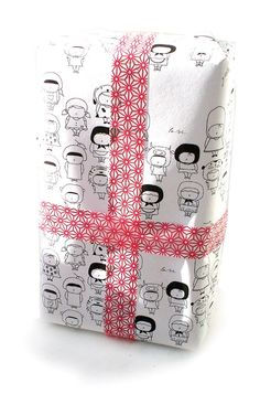 SALE Two wrapping tissue paper set. $10.00, via Etsy.